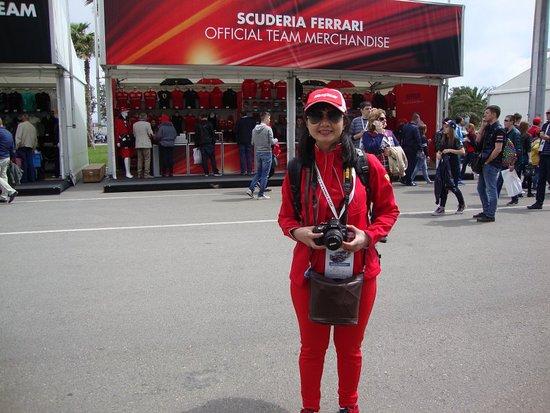 513f9de0 Scuderia Ferrari Official Team Merchandise Store - Picture of Sochi ...