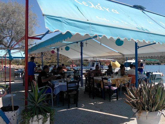 Korfos, Greece: Taverna Selena