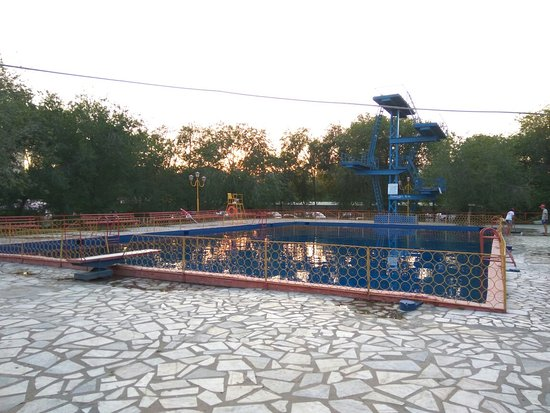 Kapchagay, Kasachstan: Капчагайский аквапарк