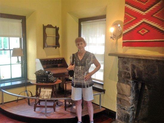 Hyde Park, estado de Nueva York: Srone Cottage Eleanor Roosevelt exhibit