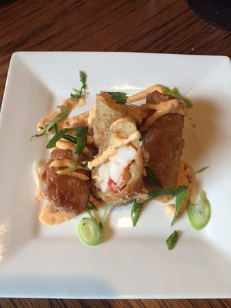 Dorset, VT: Krab and Lobster Eggrolls