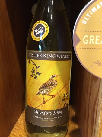 Mount Horeb, WI: Meadow Song Moscato (sweet)
