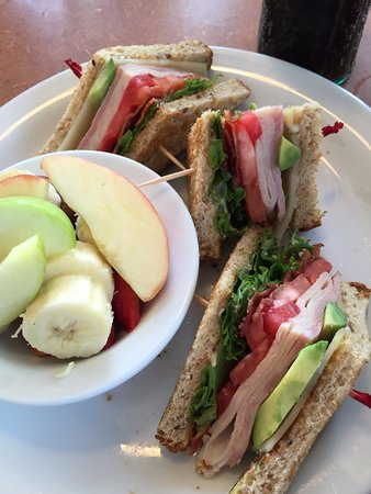 Monona, WI: Cali Club with Seasonal Fruit