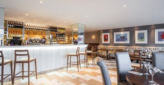 Abergavenny, UK: Restaurant Interior