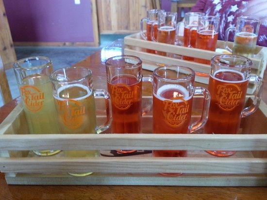 Hood River, OR: My taster of cider