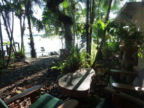 Cabinas Jimenez: Pretty view of the water