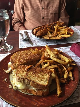 Woodsville, NH: Super turkey Reuben