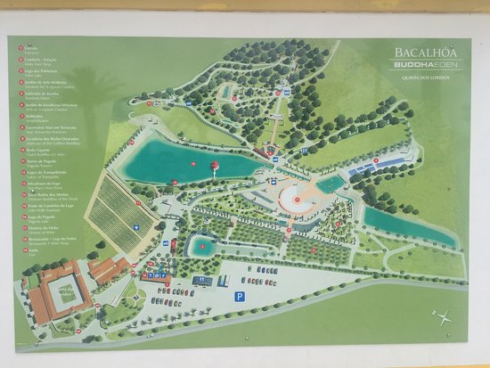 buddha eden mapa Bacalhôa Buddha Eden   Picture of Bacalhoa Buddha Eden, Bombarral  buddha eden mapa