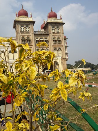 Palacio Real de Mysore: Old but till shining