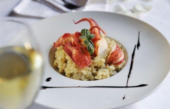 Risotto de homard bleu photo de restaurant bistronomique - Cuisine bistronomique ...