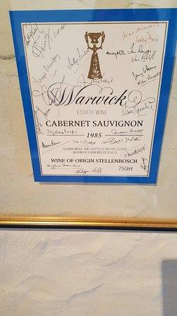 Warwick Wine Estate: photo0.jpg