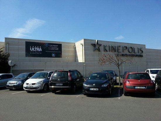 Notre Vehicule Sur Le Parking Du Kinepolis Lomme Picture Of Le