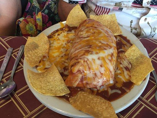 Walker, MI: Wet burrito