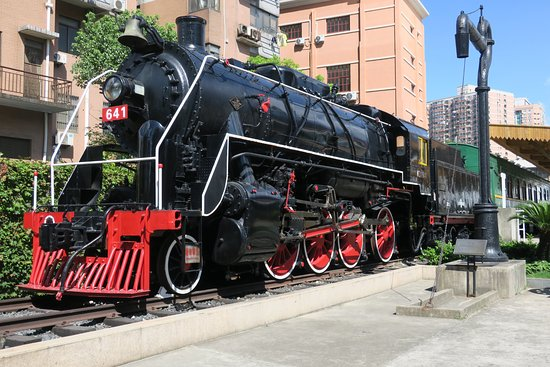 2019年 上海鉄路博物館へ行く前...