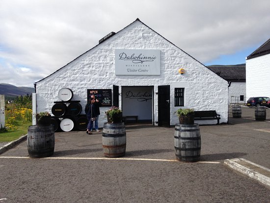 Dalwhinnie, UK: The highest distillery in Scotland and Europe!