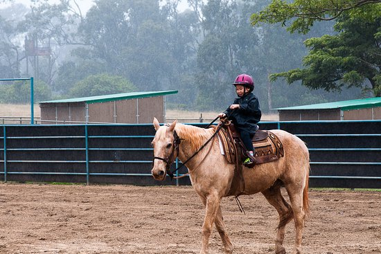Makawao, Χαβάη: Learning to ride was the highlight of this 6 year old's vacation