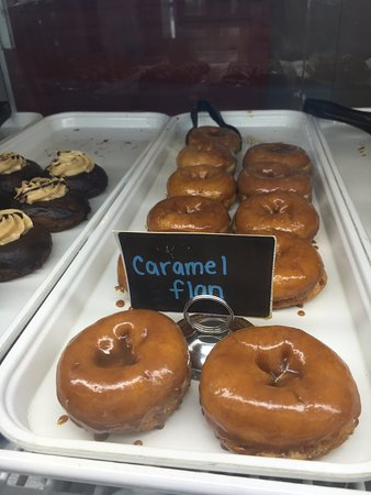 Willow Grove, PA: Caramel Flan Donuts