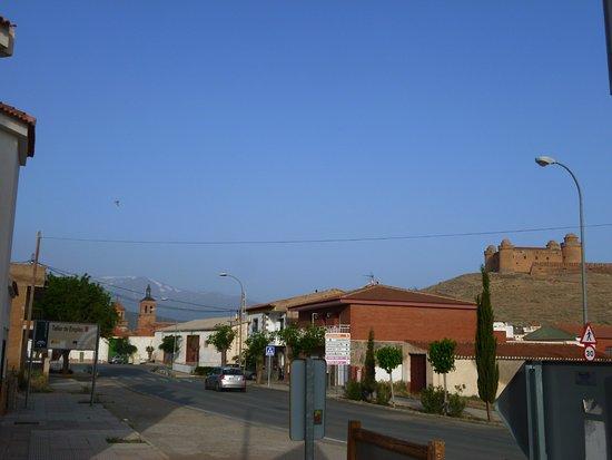 La Calahorra, إسبانيا: Ortseingang