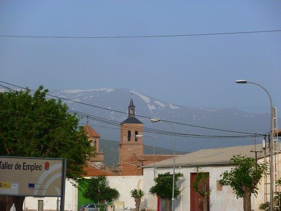 La Calahorra, إسبانيا: Aussicht auf die Sierra