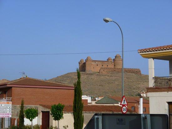 La Calahorra, إسبانيا: immer näher
