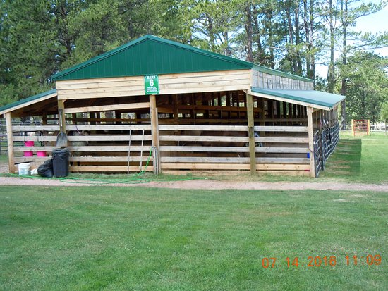 Broken Arrow  Campground: These are the barns