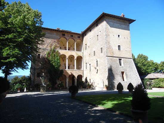 Pievescola, Italia: The castle