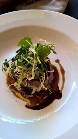 Кондом, Франция: stukje mals en sappig vlees
