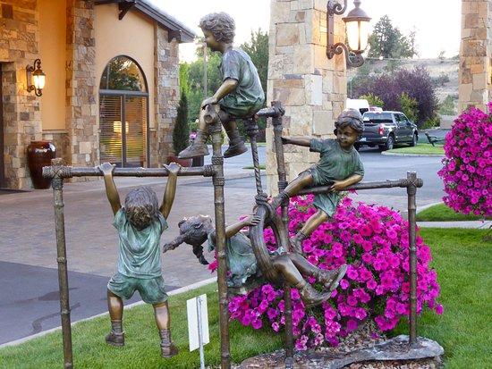 Prineville, Όρεγκον: Une des décorations extérieures