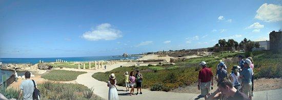 Cesarea, Israel: Panoramic