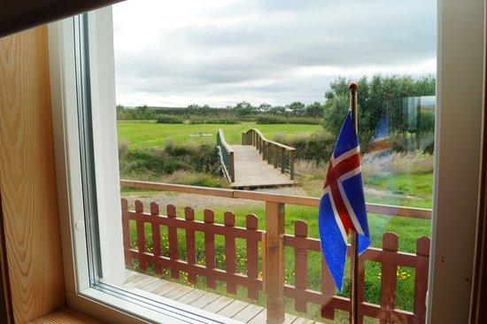 Nes: Vista dalla Golf House sul campo da golf