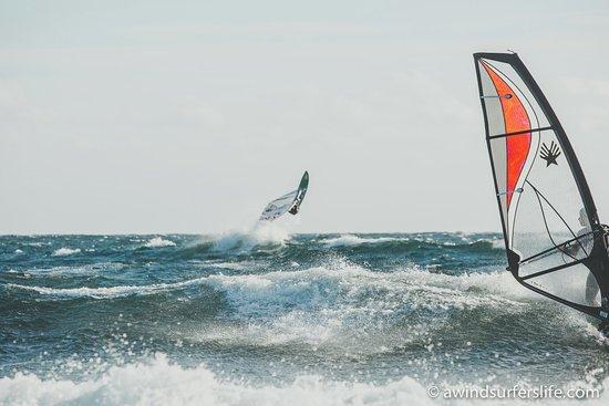 Farsund, Norwegia: Windsurfing Lista