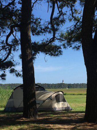 Maddox Family Campground: Room with a View!