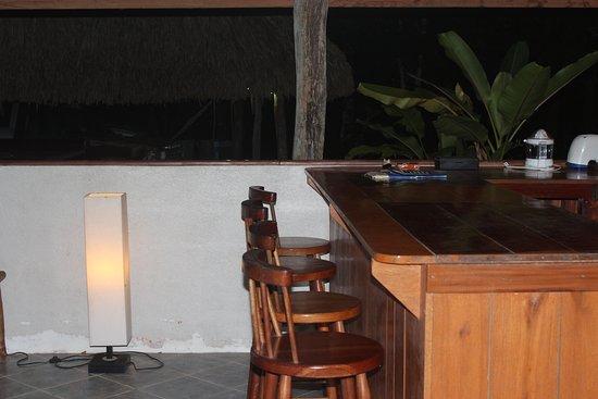 ปุนตากอร์ดา, เบลีซ: Main Lodge Bar