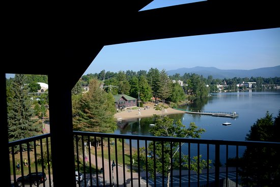 Hampton Inn & Suites Lake Placid: View from our room.