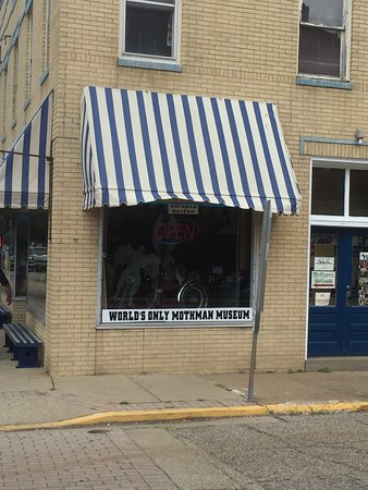 Point Pleasant, Wirginia Zachodnia: the museum and gift shop