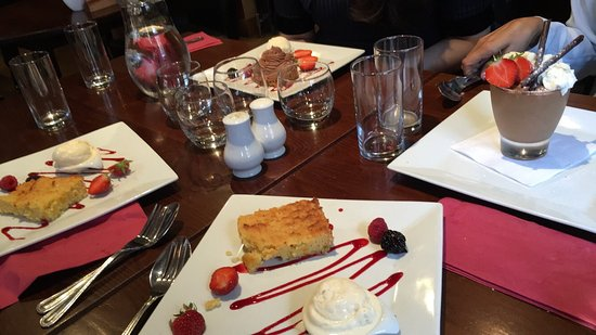 Le Bistro des Amis: Desserts