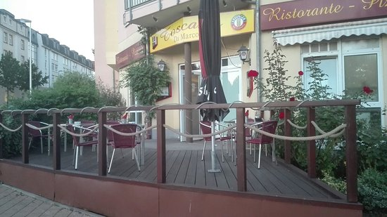Gera, Germany: Ristorante Pizzeria Toscana