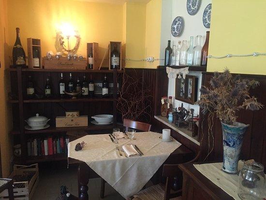 Bossolasco, İtalya: La sala da pranzo