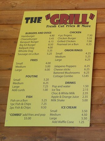 Kinmount, Kanada: The Grill