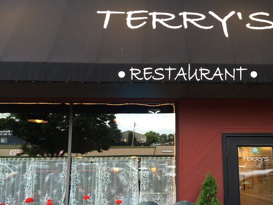Terry's Place: Terry's is behind Village pub off the main street in Charlevoix. Street parking.