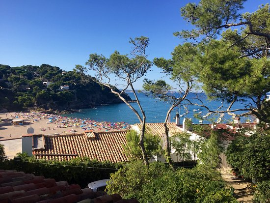 Hotel Sa Riera: View from my room