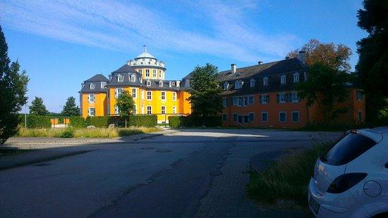 Waghausel, Jerman: Eremitsge Waghaeusel ,Zugang von der Westseite