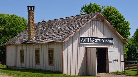 Urbandale, IA: Blacksmith building