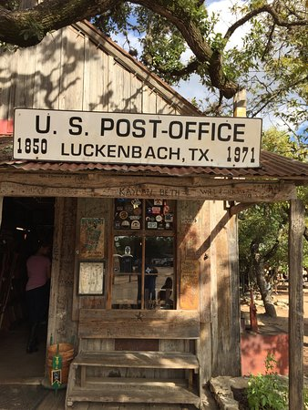 Luckenbach Texas General Tx Post Office