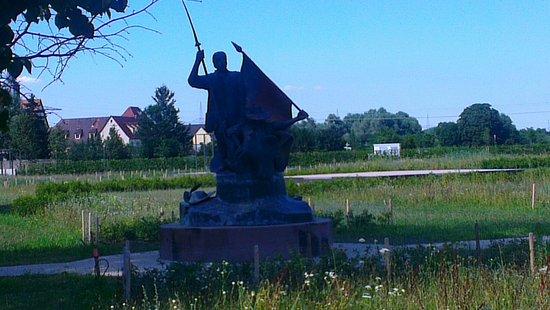 Waghausel, Tyskland: Freiheitsdenkmal bei der Eremitage