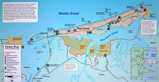 Joppa Flats Education Center and Wildlife Sanctuary : Video Map of Plum Island at Education Center