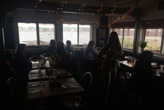 Marblehead, MA: dining room
