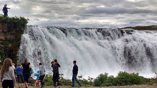 Iceland Horizon: Faxafoss Waterfall
