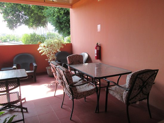 Hotel San Luis: Terrace