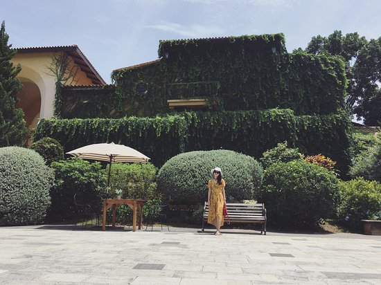 Khao Yai National Park, Tayland: Khu sân trước cổng chính